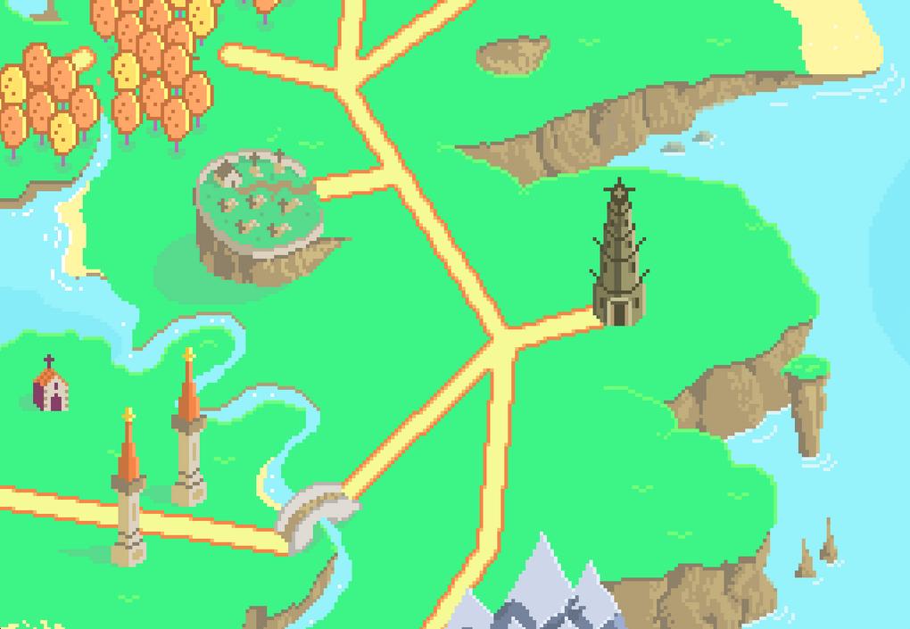 Proyecto personal. PixCardBattle. World map