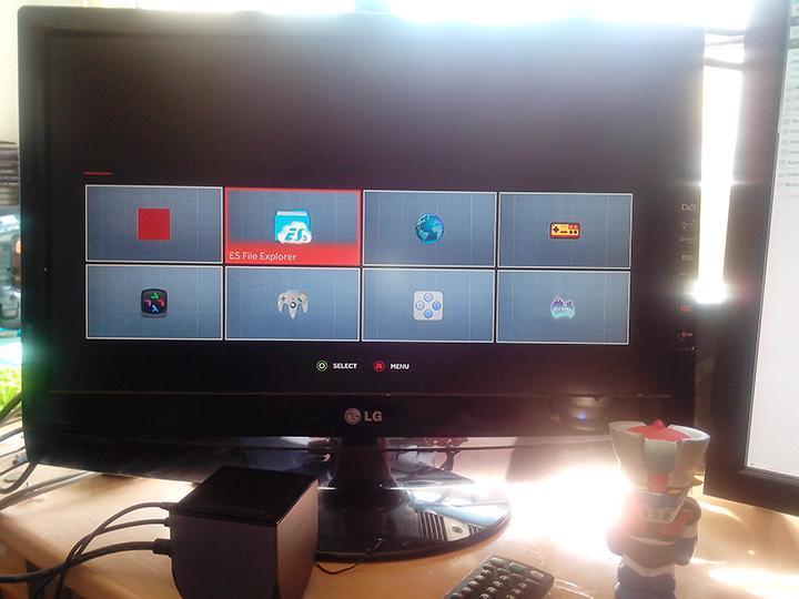Ouya Software Screen