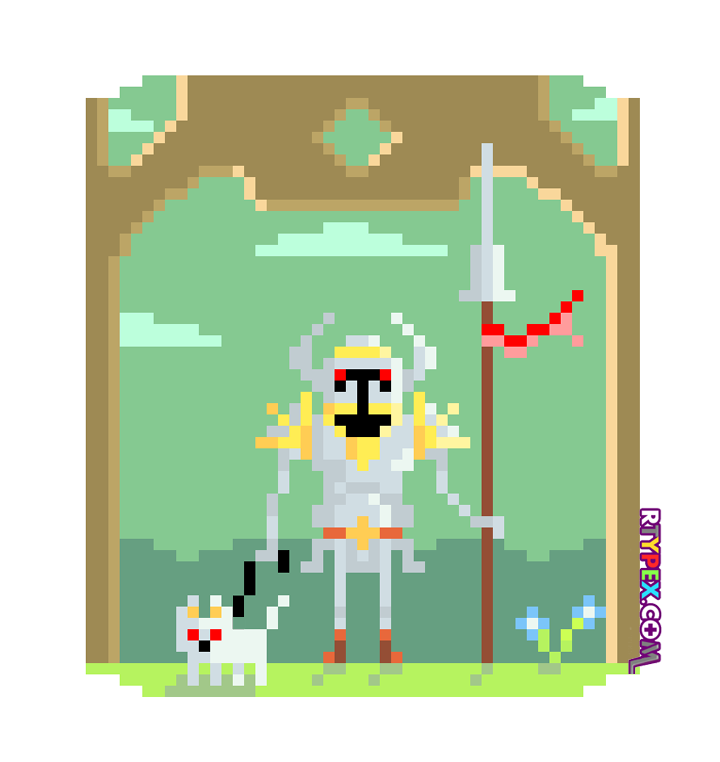 warrior_pixel